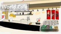 16 World Café boton